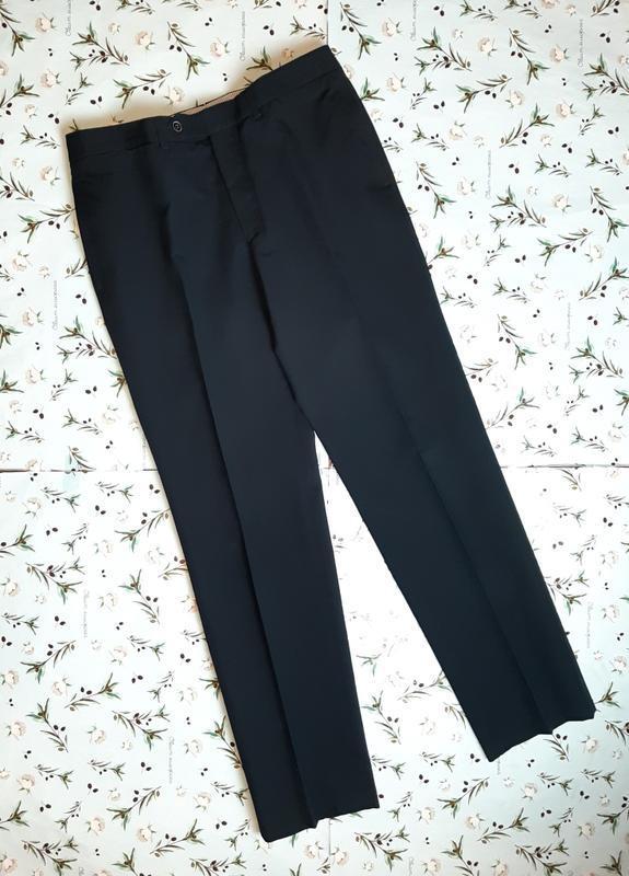 🎁1+1=3 фирменные крутые зауженные плотные брюки со стрелками m...