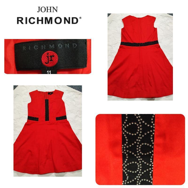 Шикарное брендовое платье 👗(джон ричмонд) для девочки 10-11 лет