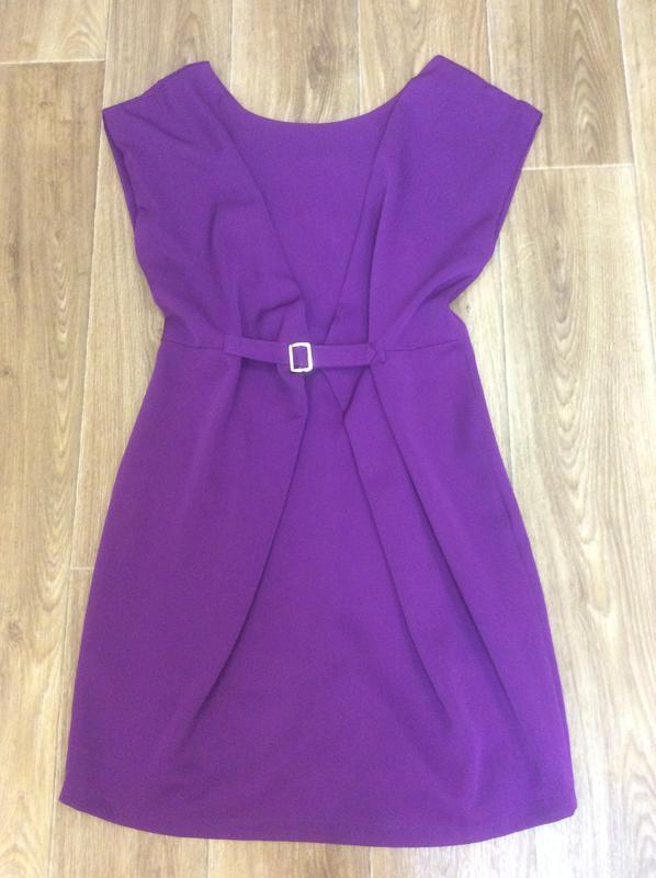 Платье фиолетовое классное