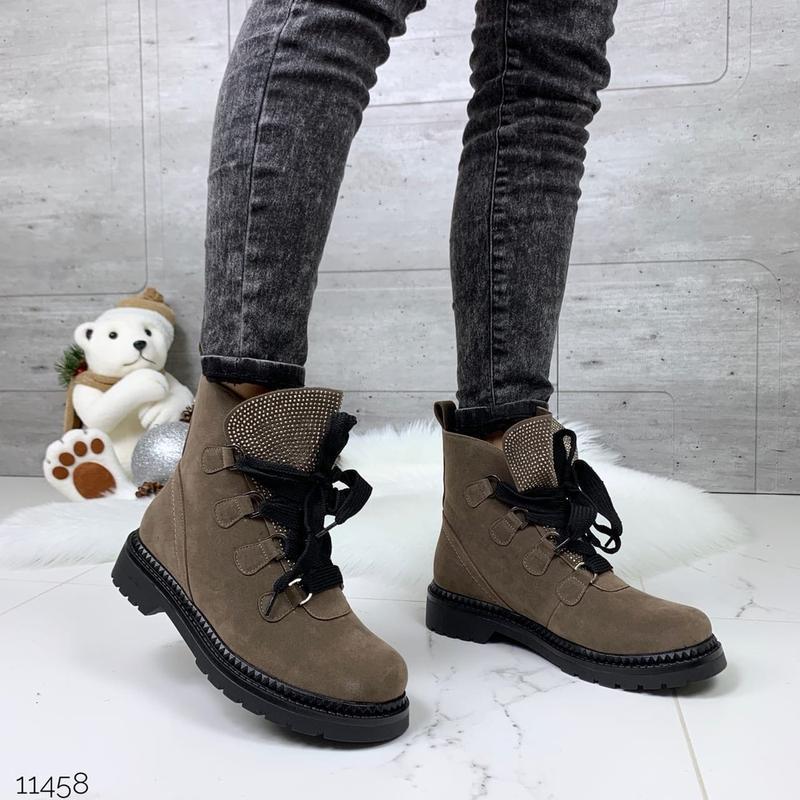 ❤ женские  зимние  ботинки сапоги полусапожки ботильоны на меху ❤