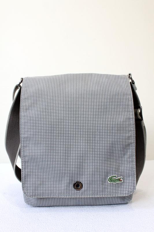 Lacoste messenger сумка через плечо
