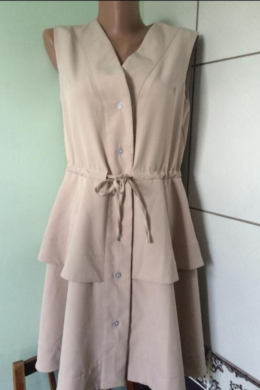 Платье-халат, платье на пуговицах