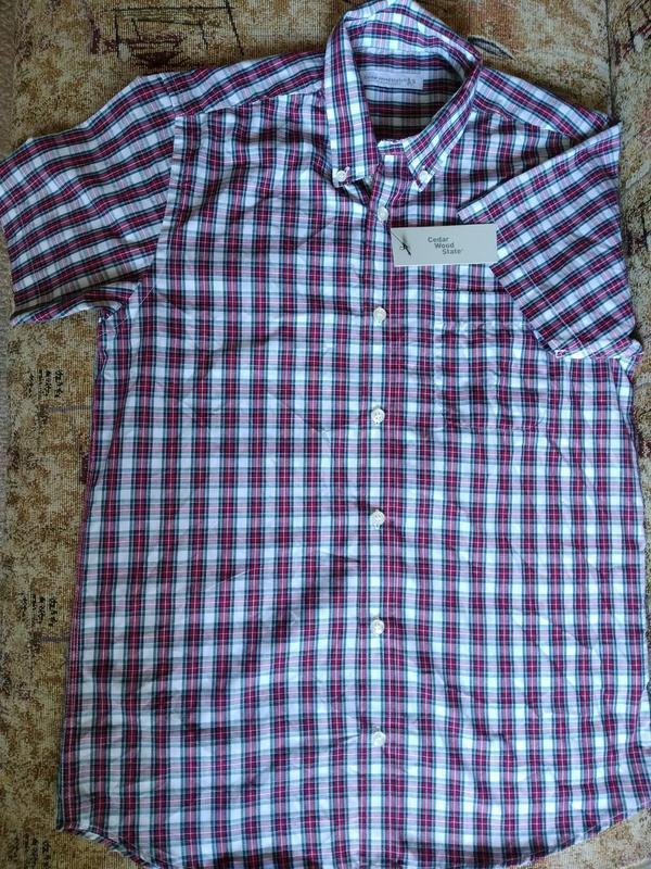 Рубашка мужская с коротким рукавом cedarwood state