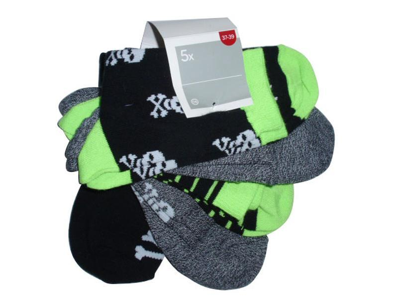 Набор носков 5 пар носки хлопок бренд c&a германия р. 37-39