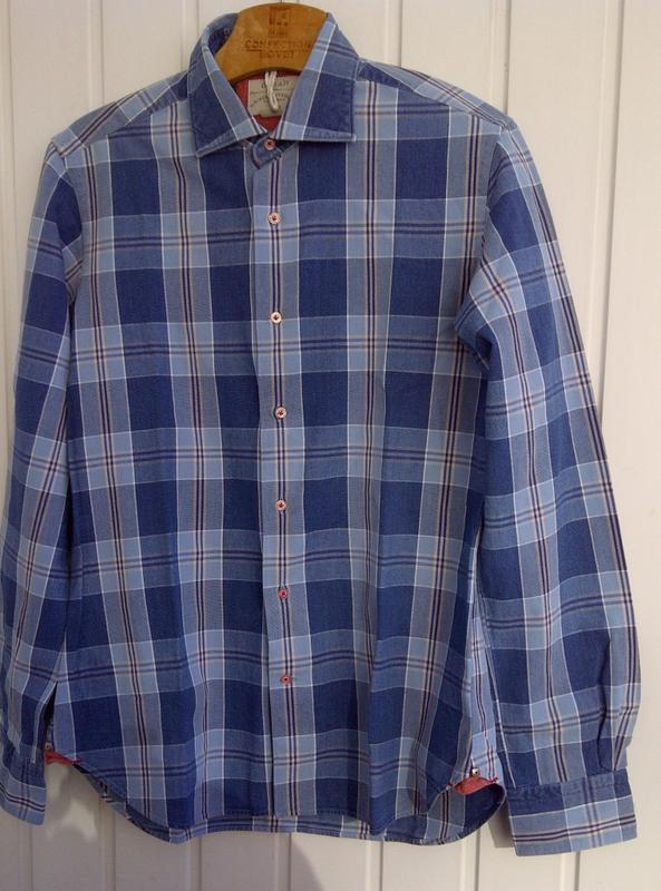 Рубашка лакшери класса orian slim fit