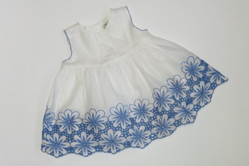 Платье туника р3-6мес f&f