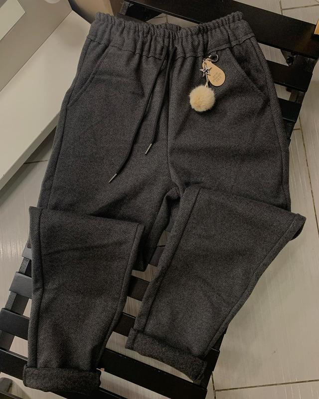 Твидовы штаны, теплые штаны