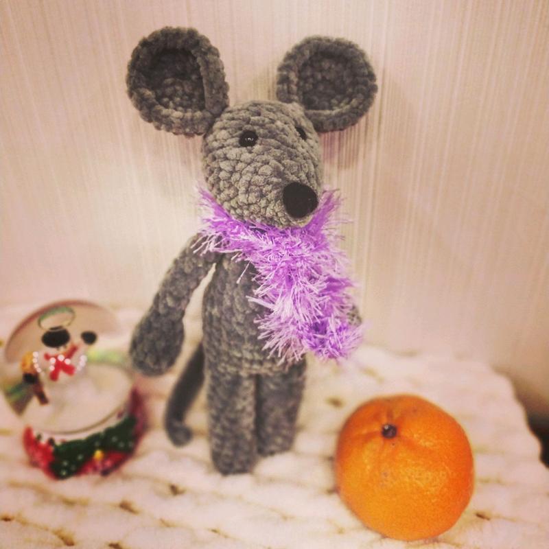 Крыса сувенир мышь подарок