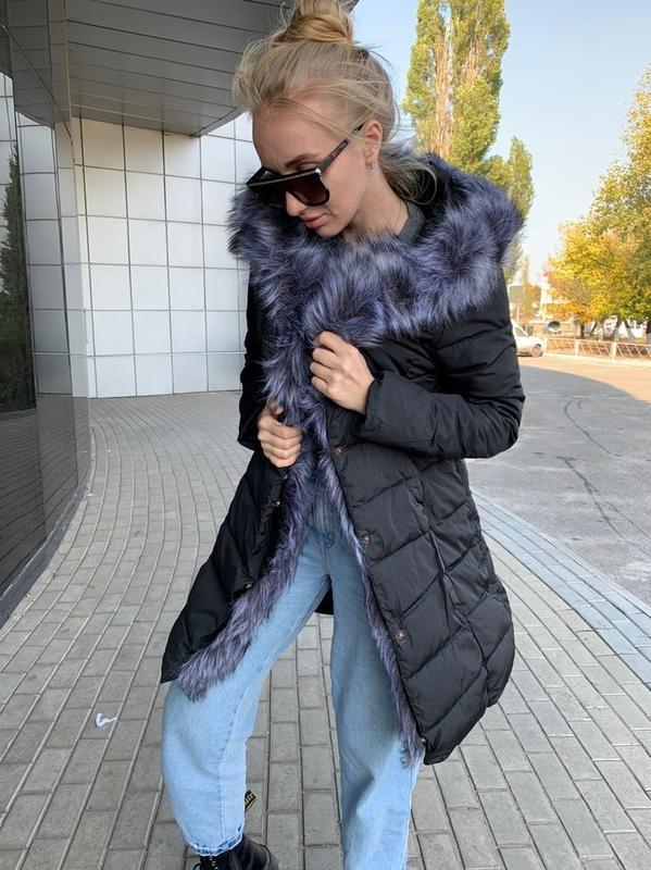 ✅ куртка с мехом
