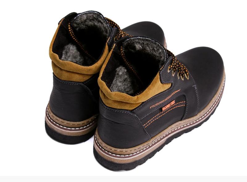 Мужские кожаные зимние ботинки Walker New Seazone - Фото 2
