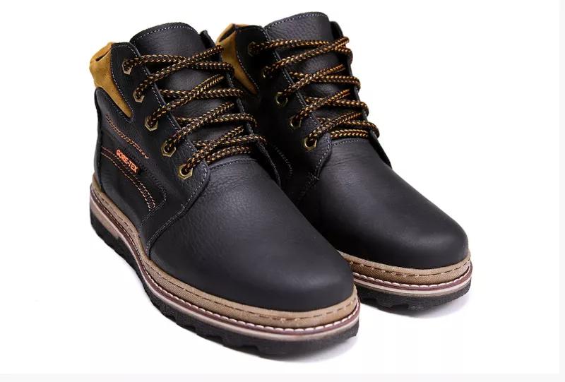 Мужские кожаные зимние ботинки Walker New Seazone - Фото 3