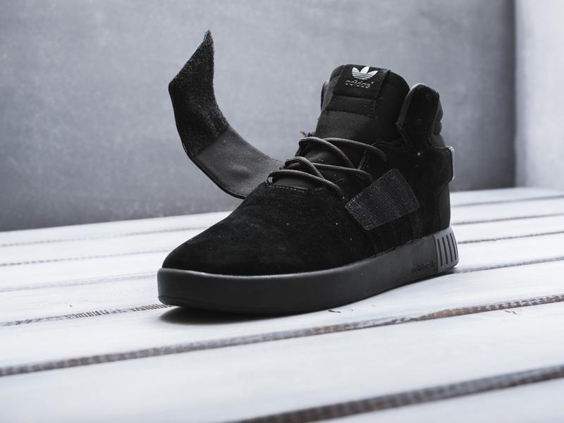 Кроссовки мужские adidas tubular invader strap core black c 40... - Фото 3