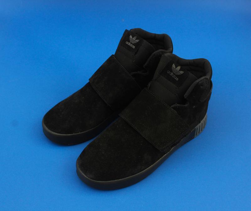 Кроссовки мужские adidas tubular invader strap core black c 40... - Фото 4