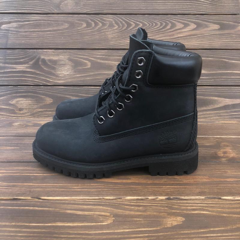 Ботинки timberland classic boot black