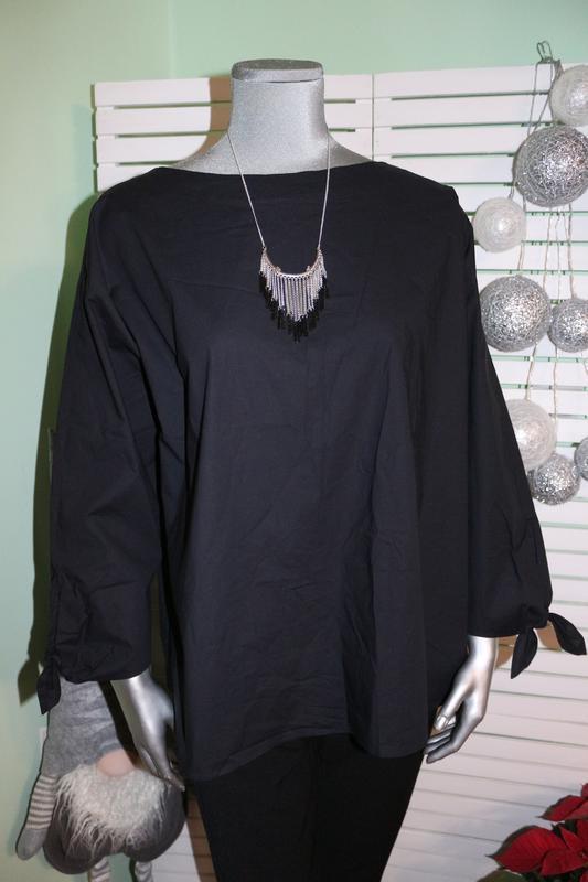 Черная блуза рубашка bogner