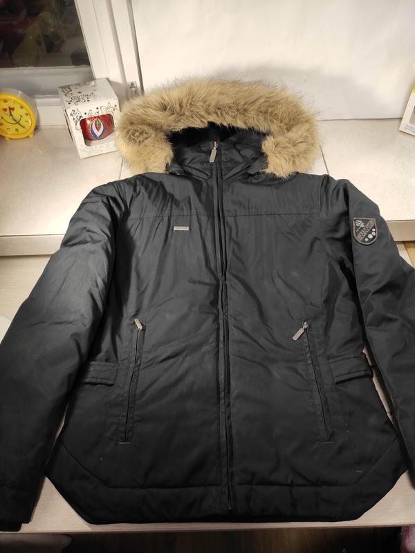 Columbia женский пуховик куртка зимняя - Фото 2
