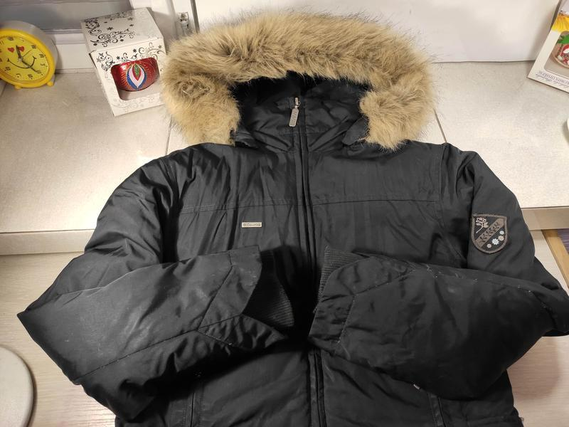 Columbia женский пуховик куртка зимняя - Фото 4