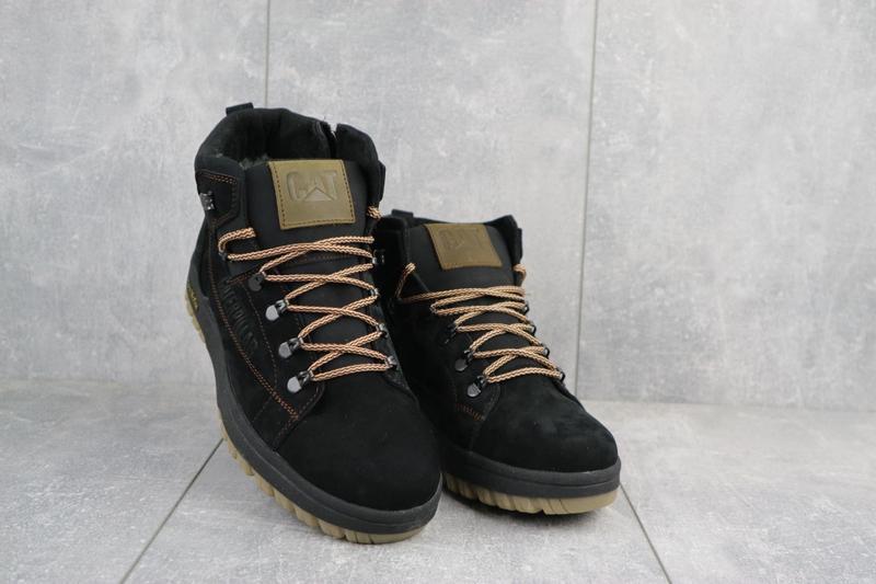 Мужские зимние ботинки {натуральная замша} - Фото 2
