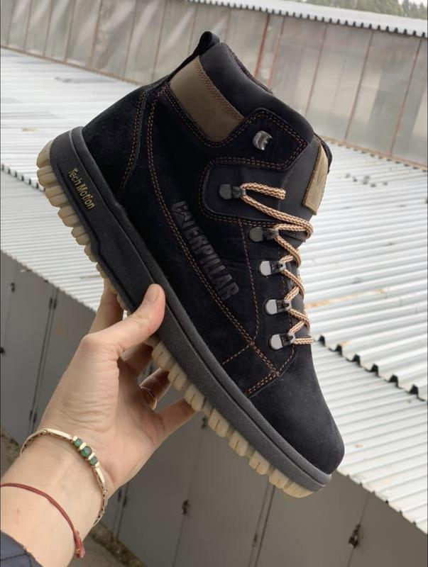 Мужские зимние ботинки {натуральная замша} - Фото 4