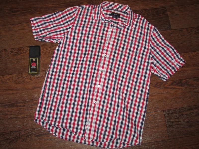 Брендовая рубашка р-ра л , o*stin оригинал.