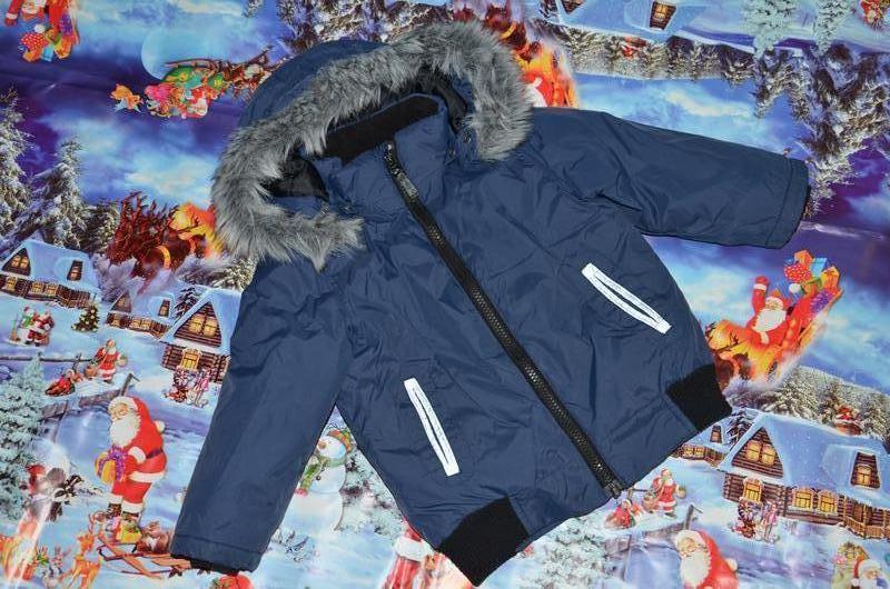 Зимняя куртка name it 92р пуховик на мальчика 2-3года