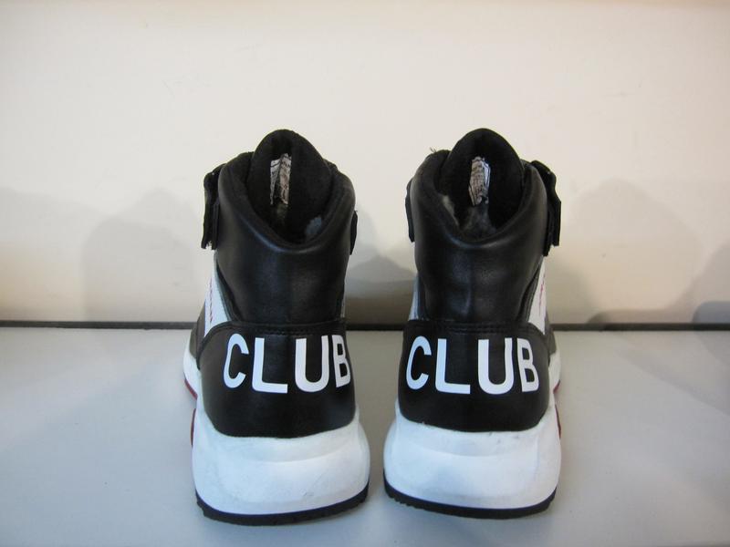 Мужские кожаные зимние ботинки/кроссовки в стиле jordan club33 - Фото 6