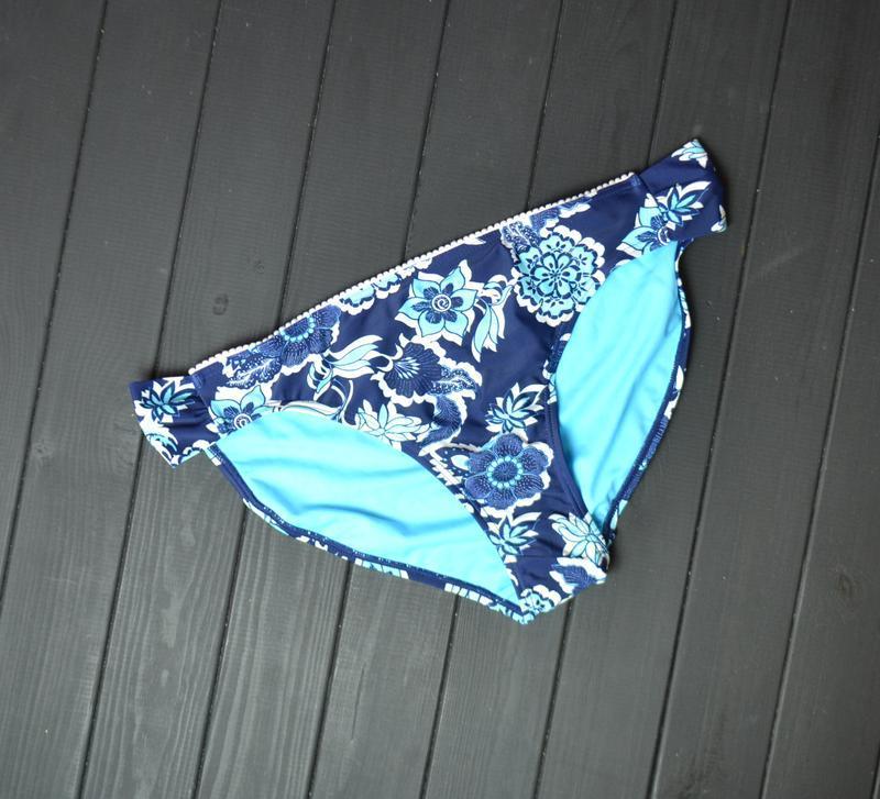 Синие плавки в цветы от george  размер16uk