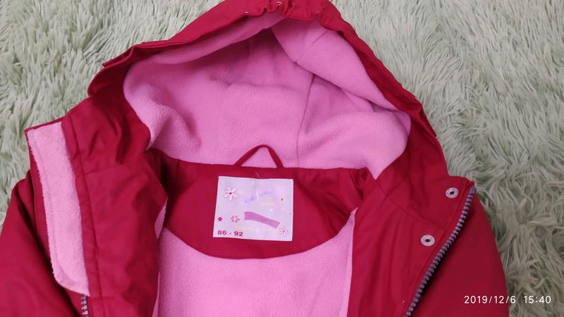 Курточка на флисе - Фото 3