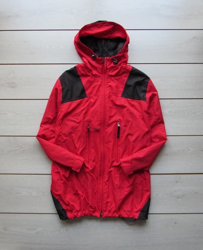 Тонкая куртка ветровка на завязке снизу от sportswear ulla popken