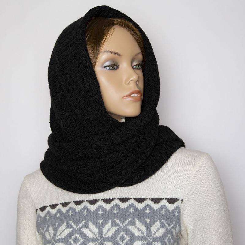 Шарф хомут /марсала/снуд/вязаный снуд шарф /юбка вязаная шерст...