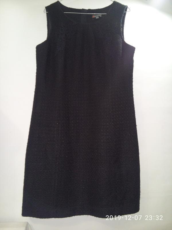 Твидовое платье сарафан  в стиле шанель