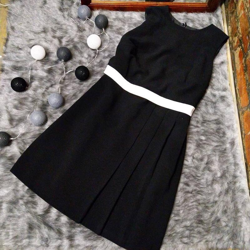Платье с накладным лифом marks and spencer