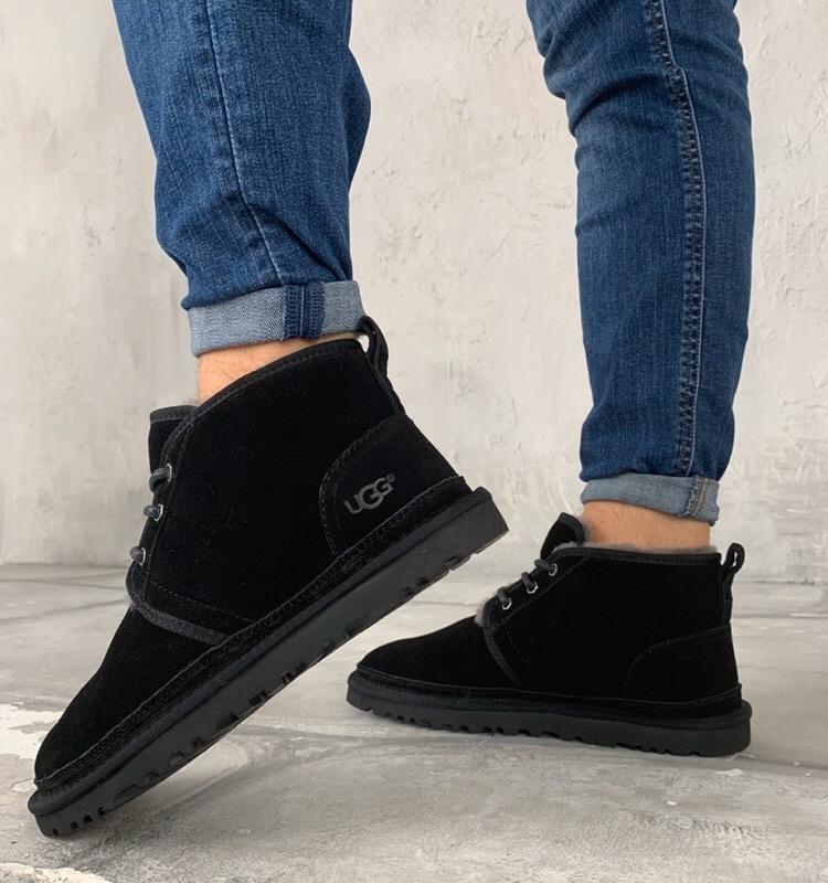 Мужские ботинки ugg black