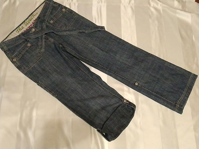 Летние джинсы- бриджи