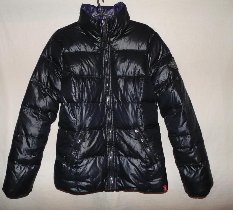 Куртка пуховик натуральный пух - перо esprit оригинал размер l...