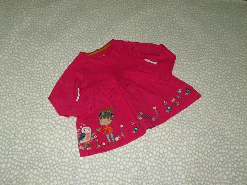 Платье-туника с девочкой tu 1-2 года