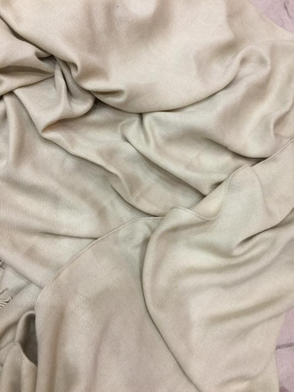 Большой шарф палантин шаль полиестр вискоза италия - Фото 2