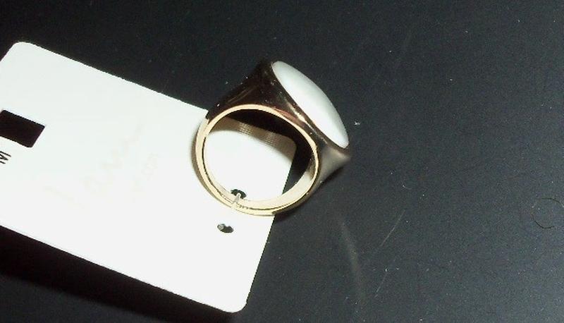 Кольцо из германии, ценник 6,95 евро