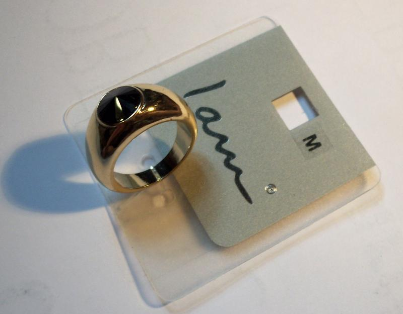 Кольцо из германии, ценник 5,95 евро