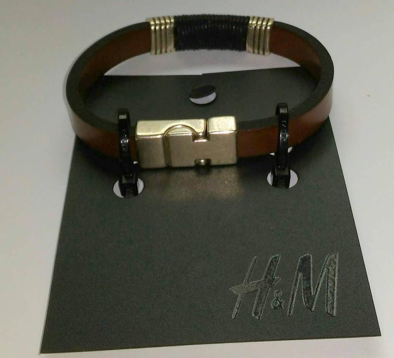 Мужской браслет h&m италия ценник 7, 99 евро