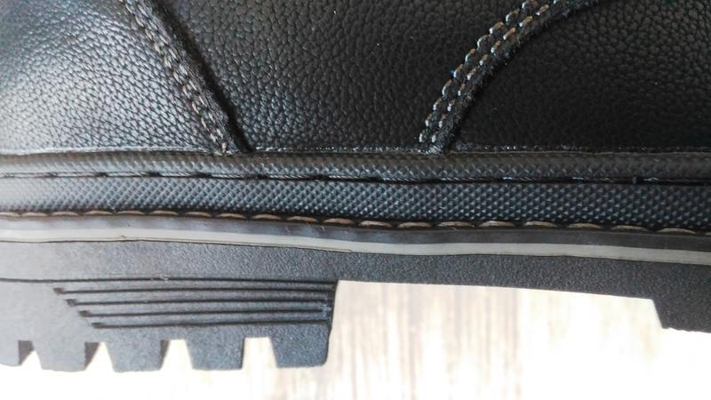 Зимние ботинки, натуральная кожа, цигейка. - Фото 6