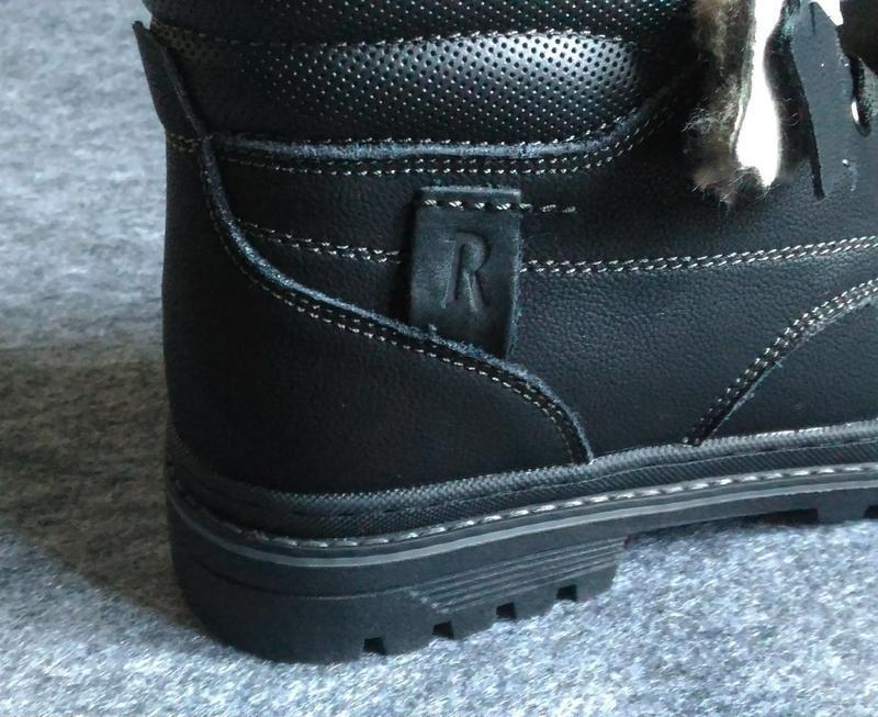 Зимние ботинки, натуральная кожа, цигейка. - Фото 10