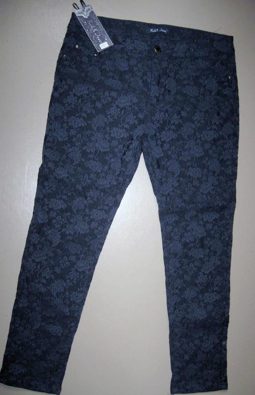 Стильные мужские джинсы re&x jeans р.52 клубные концертные
