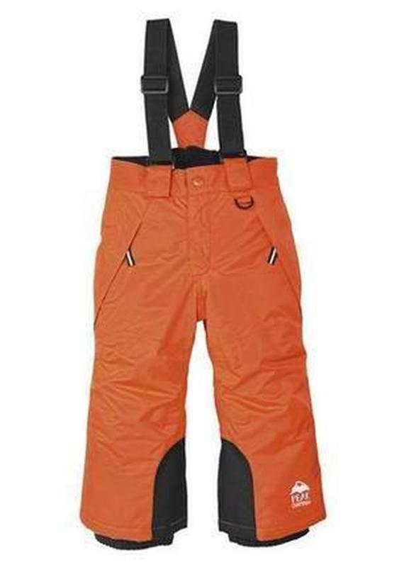 Штаны lupilu (полу комбинезон, зимние лыжные брюки)