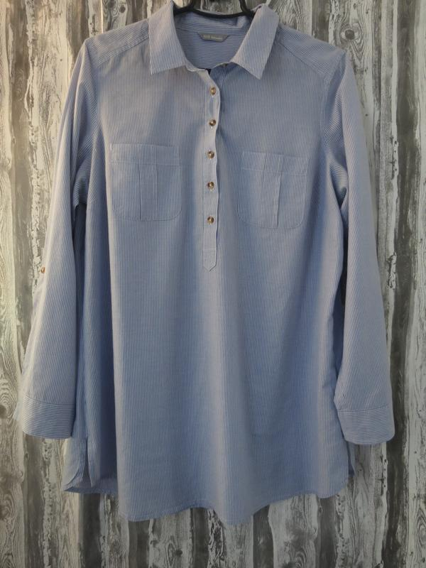 Женская рубашка, блуза с длинным рукавом 16 размер