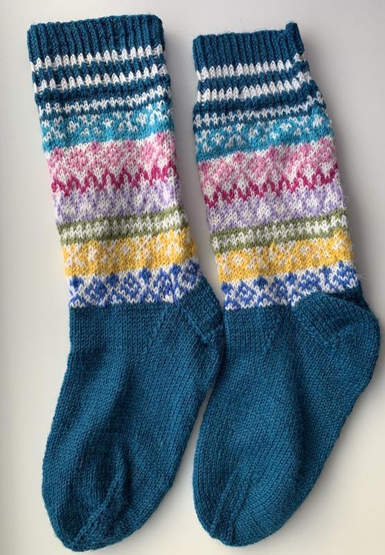 Вязаные носки, вязані носки, теплі , гарні носки
