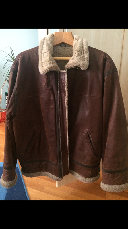 Дублёнка кожанная зимняя куртка explorer xxxl