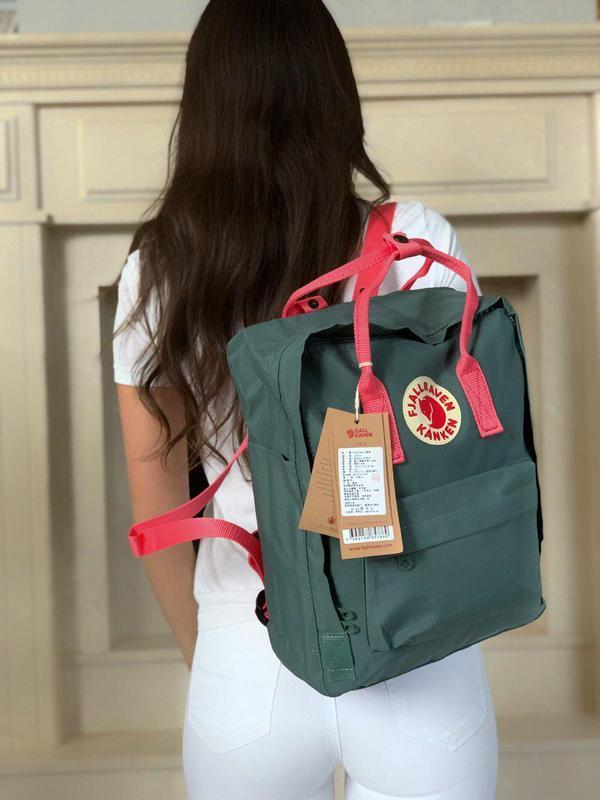 Kanken женский рюкзак в крутом сочетании цветов 😍