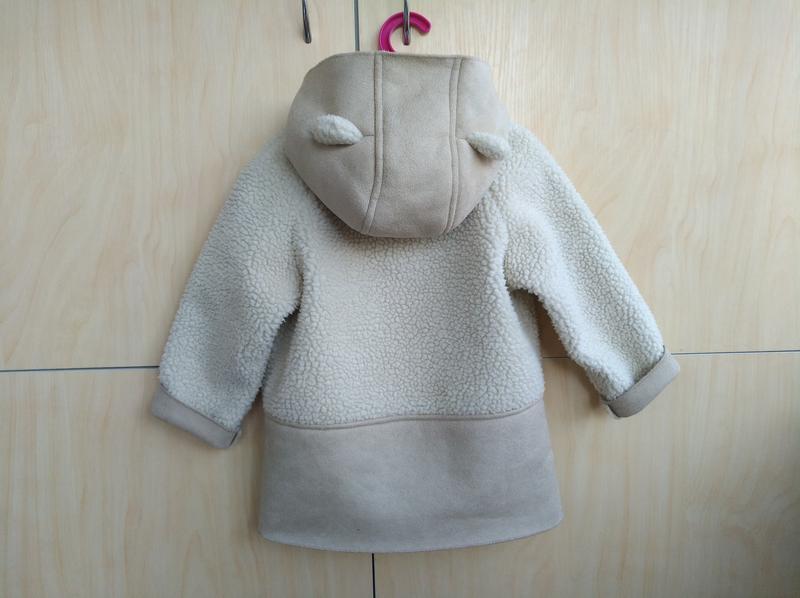 Куртка дубленка демисезон next на 2-3 года - Фото 6
