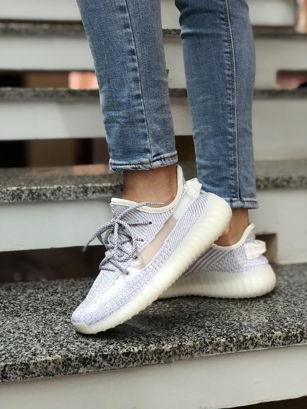 Кроссовки ❤ женские adidas yeezy 350 топ качество
